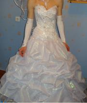 Платье свадебное,  размер 42-44