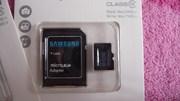 Карта памяти CD Samsung 32 Гб.+переходник.Новые