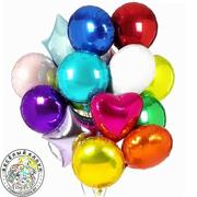Фольгированные шары с гелием 18 дюймов