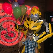 Детский праздник с трансформером Бамблби и клоунессой Ириской в Гомеле
